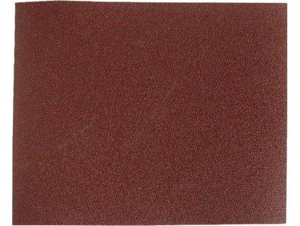 plátno brusné archy , bal. 10ks, 230x280mm, P100