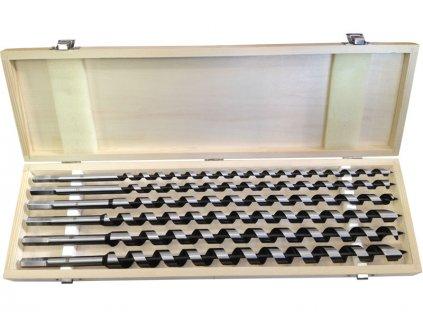 EXTOL PREMIUM - vrtáky hadovité do dřeva sada 6ks ∅10-20x460mm