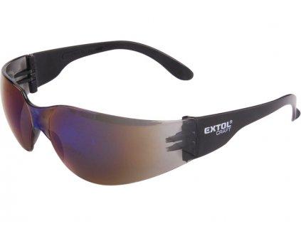 brýle ochranné, modré, univerzální velikost, EXTOL CRAFT