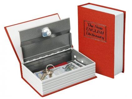 schránka bezpečnostní - knížka, 265x205x65mm, 2 klíče, EXTOL CRAFT