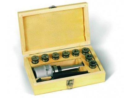Kleštinový upínač MkIII a sada kleštin 4 - 16 mm  + Dárek dle vlastního výběru