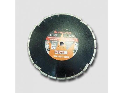 Diamantový kotouč na asfalt 350x25,4 mm, výška segmentů 10 mm