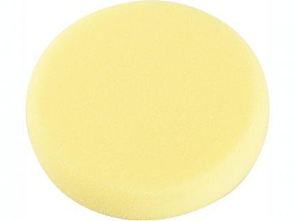 kotouč leštící pěnový T80, žlutý,∅150x30mm, suchý zip