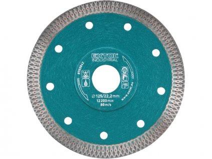 kotouč diamantový řezný, turbo Thin Cut, suché i mokré řezání, 150x22,2mm