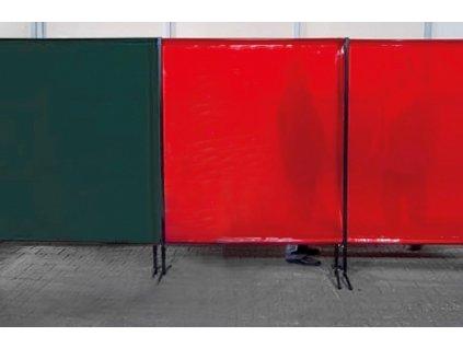 TransEco ochranná zástěna 1450 V, červená 1450 × 1870 mm  + Dárek dle vlastního výběru