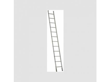 1x7 jednodílný hliníkový žebřík