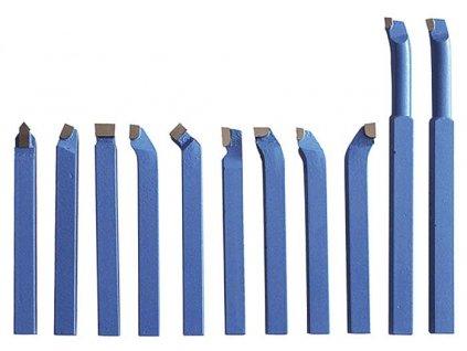 Soustružnické nože HM 12 mm, 11 ks
