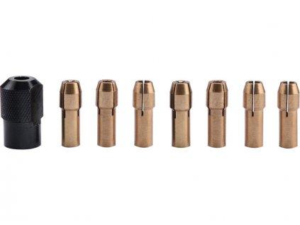 kleštiny, sada 8ks, ∅1-1,6-2-2,3-3-2x3,2mm, hlavice M8x0,75