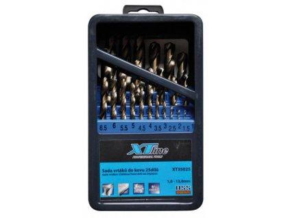 Sada vrtáků 1-13mm 25dílů cobalt