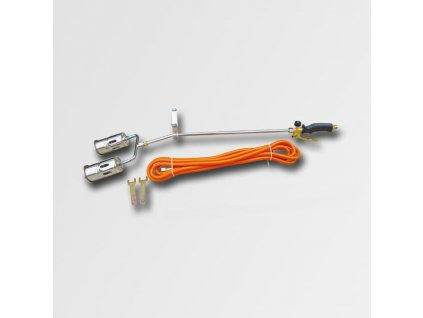 Opalovací plynová souprava dvojitý hořák 2x20KW hadice 5m