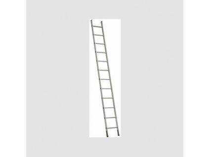 1x9 jednodílný hliníkový žebřík
