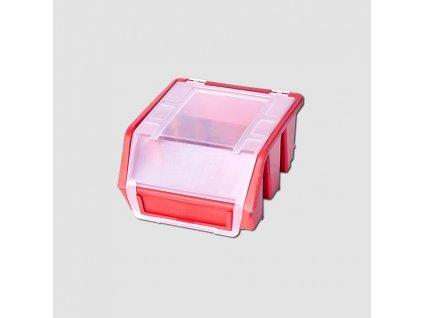 Plastová krabička uzavřená 116x112x75mm na stěnu
