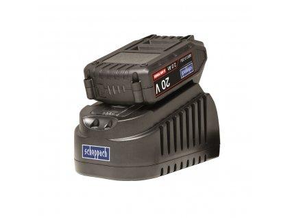 Scheppach ABP2.0-20Li KIT A - set nabíječky a baterie