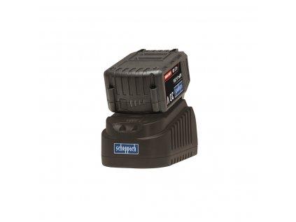 Scheppach ABP4.0-20Li KIT B - set nabíječky a baterie