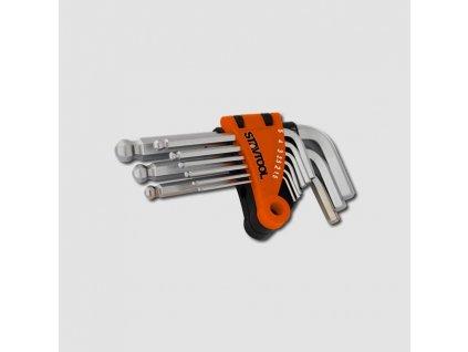 Sada imbus klíčů 1,5-10mm 9 dílů