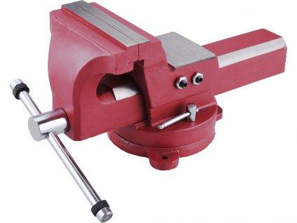 svěrák otočný s kovadlinou, 150mm, SG Iron