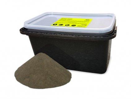 Pískovací směs - kbelík 15 kg, zrnitost 0,2-1,8 mm