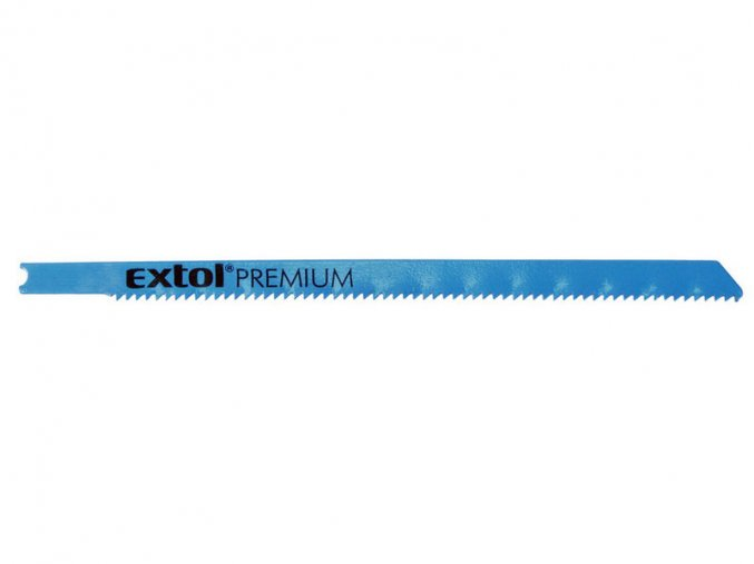 plátky do přímočaré pily 5ks, 106x1,8mm, úchyt UNIVERSAL, Bi-metal, EXTOL PREMIUM
