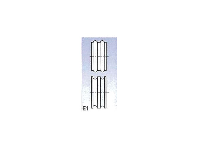 Rolny typ E1 (pro SBM 140-12 a 140-12 E)  + Dárek dle vlastního výběru