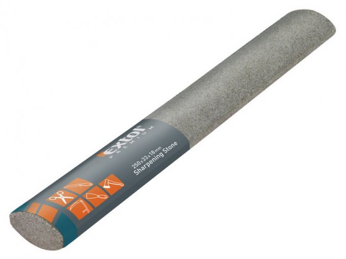 brousek elipsovitý, 250x33x18mm, EXTOL PREMIUM