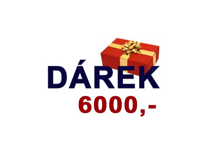 Dárek 8 (Sleva 6000,-Kč na vybraný produkt)