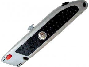 nůž s výměnným břitem, 5ks náhradních břitů, tlačítko pro výměnu břitu, EXTOL CRAFT