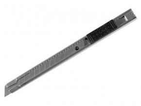 nůž ulamovací celokovový nerez, 9mm, s Auto-lock, NEREZ, EXTOL CRAFT