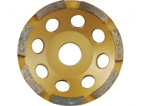 kotouč diamantový brusný jednořadý, 150x22,2mm, výška segmentů 5mm, počet segmentů 12, EXTOL PREMIUM