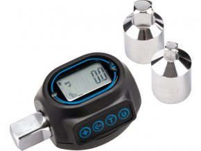 "adaptér momentový digitální, 1/2"", 20-200Nm, s redukcí na čtyřhran 1/4"" a 3/8"", EXTOL PREMIUM"