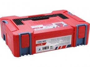 box plastový, S velikost, vněj.rozměr 443x310x128mm, ABS, EXTOL PREMIUM