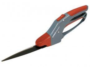 nůžky na trávu otočné, 360mm, otočné 0°-360°, 12 stříhacích poloh, rukojeť z tvrdého PP plastu a kvalitní měkčené TPR gumy, EXTOL PREMIUM