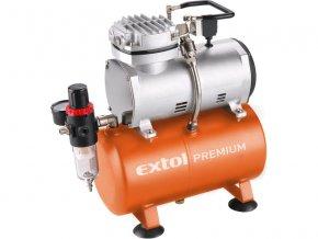 kompresor, 150W, EXTOL PREMIUM, AC-S3  + Dárek dle vlastního výběru
