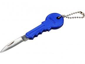 nůž s rukojetí ve tvaru klíče, 100/60mm, délka otevřeného nože 100mm, délka zavřeného nože 60mm, nerez, EXTOL CRAFT