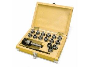 Sada upínače MK2/M10/ER32 a kleštin 3-20 mm (15 ks)  + Dárek dle vlastního výběru