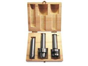 Sada unašečů, 3 díly - pro soustruhy na dřevo DB