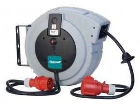 Navíjecí buben s kabelem KAR PRO 5×1,5/10 m, 400 V  + Dárek dle vlastního výběru