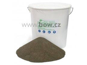 """Abrazivo (""""písek"""") na pískování EVAM, zrnitost 0,1 - 1 mm, kbelík 16 kg"""