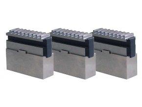 Měkké čelisti pro 3-čelisťové sklíčidlo OPTIMUM Ø 250 mm Camlock D1-6