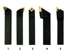 Soustružnické nože HM 16 mm, sada - 5 ks  + Dárek dle vlastního výběru