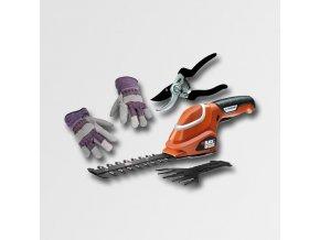 Aku nůžky na trávu  7,2V+nůžky a rukavice  + Dárek dle vlastního výběru
