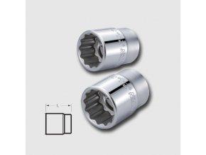 """Hlavice dvanáctihranná CRV 3/4"""" 21mm"""