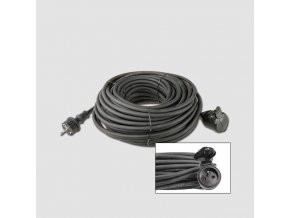Prodluž. kabel guma 1 zás.230V/10m