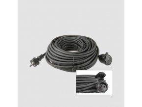 Prodluž. kabel guma 1 zás.230V/20m