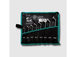 Sada očkových klíčů 6-17 mm 6 dílů chrom-obal