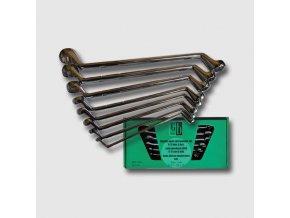 Sada očkových klíčů 6-22 mm 8 dílů chrom