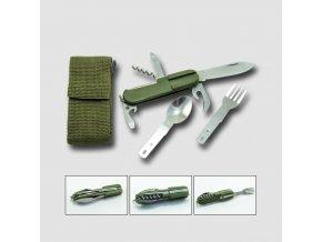 Nůž campingový 8-dílný