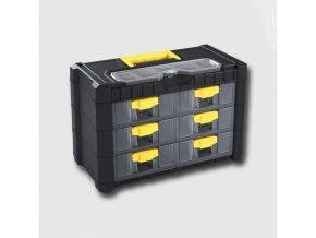 Skříňka na drobný material 6zásuvek 260x200x400mm