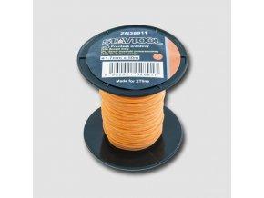 Provázek 50 m, 1,7 mm, oranžový