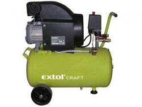 kompresor olejový, 1500W, EXTOL CRAFT  + Dárek dle vlastního výběru