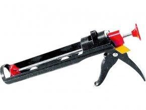pistole vytlačovací vaničková plastová, 225mm, na kartuše, EXTOL CRAFT